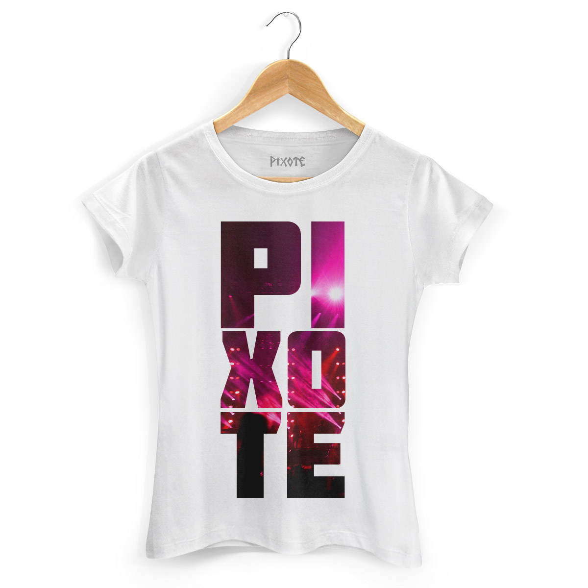 Camiseta Feminina Pixote Lights