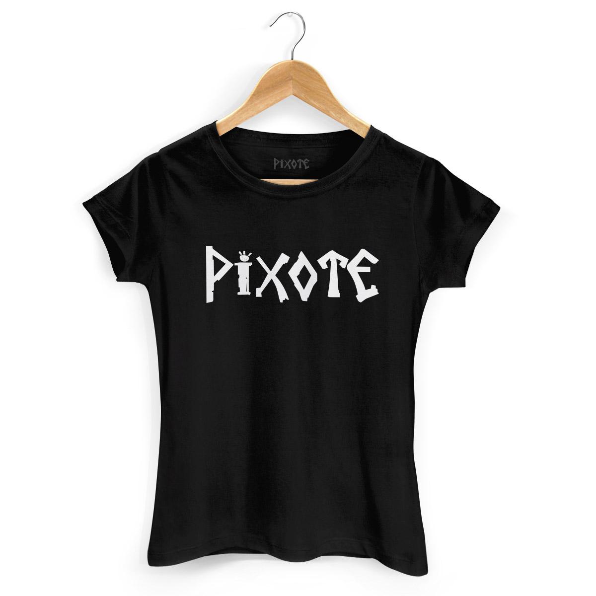 Camiseta Feminina Pixote Logo