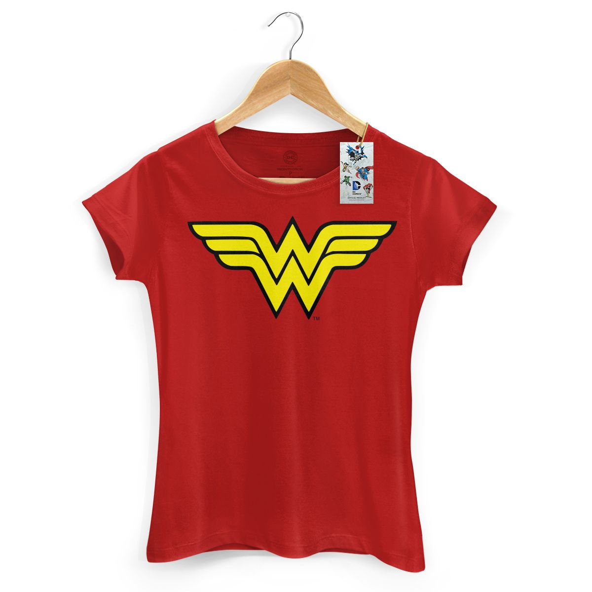 Camiseta Feminina Power Girls Wonder Woman