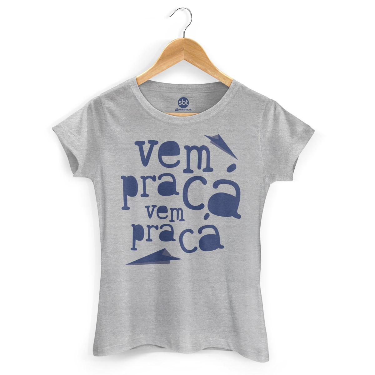 Camiseta Feminina SBT Vem Pra Cá