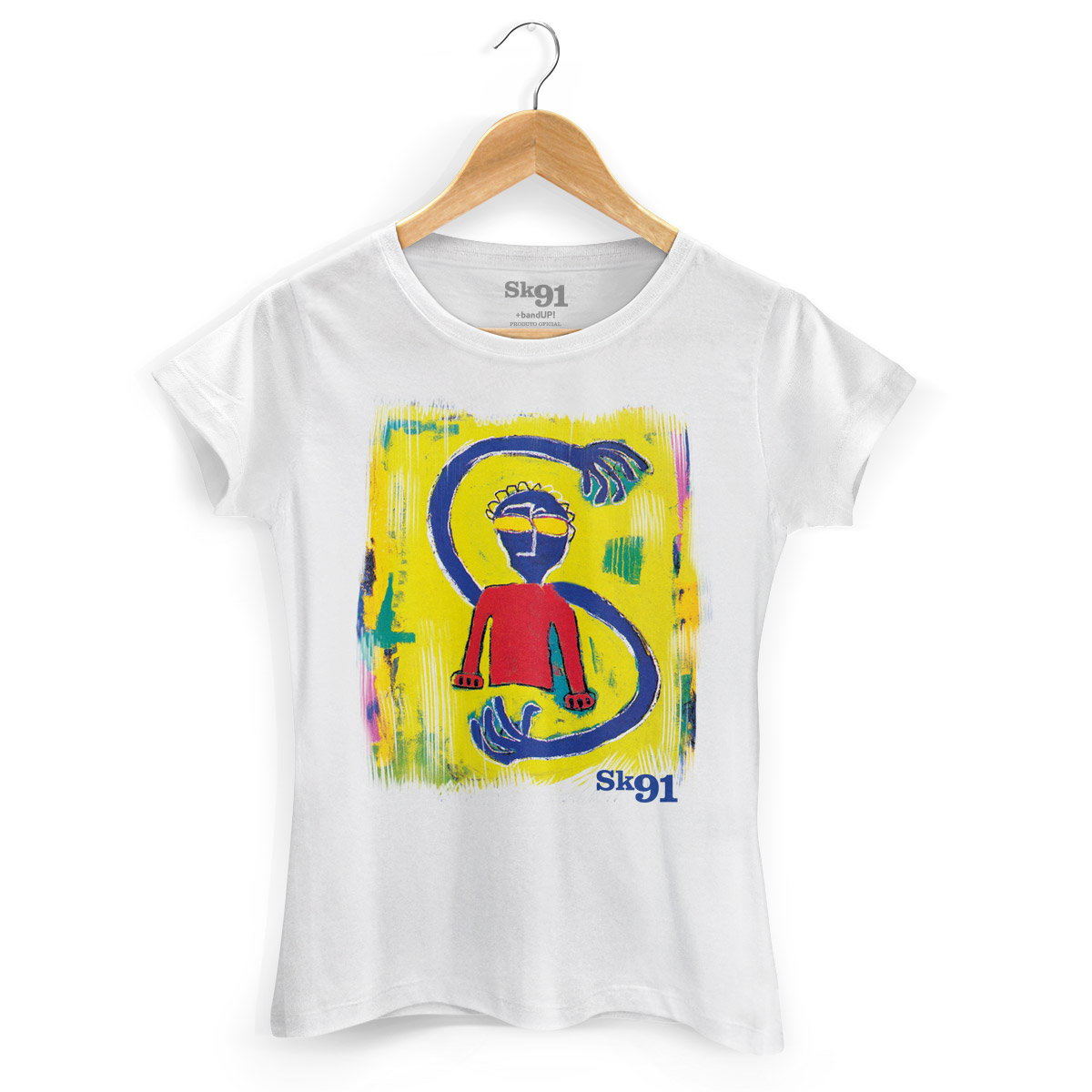 Camiseta Feminina SK91 Siderado