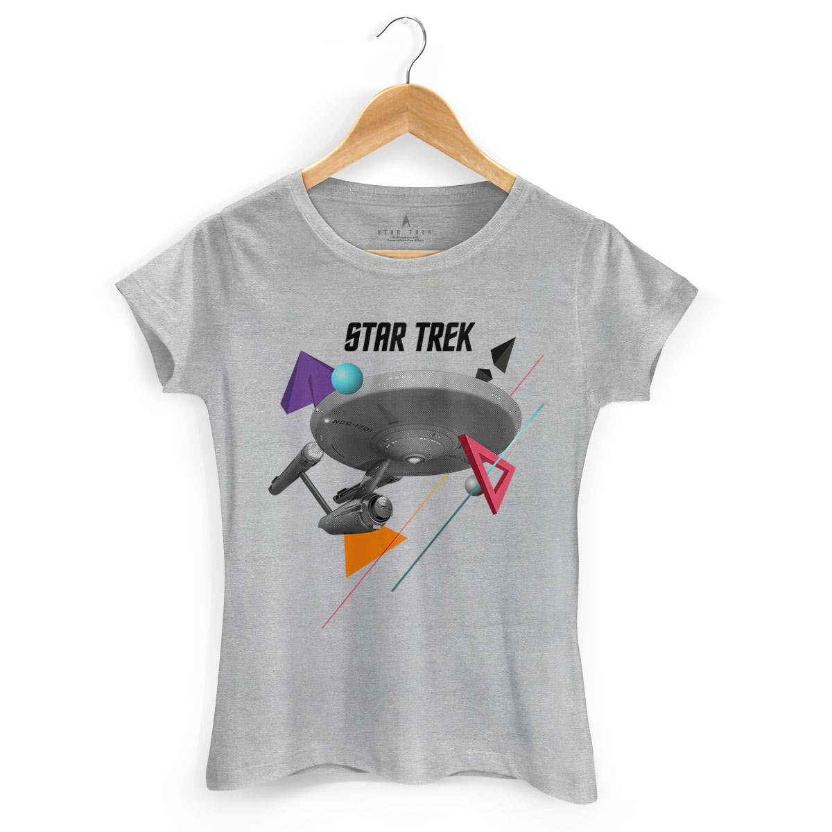 Camiseta Feminina Star Trek Enterprise