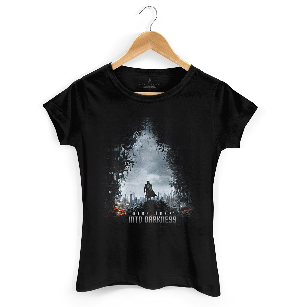 Camiseta Feminina Star Trek Into Darkness