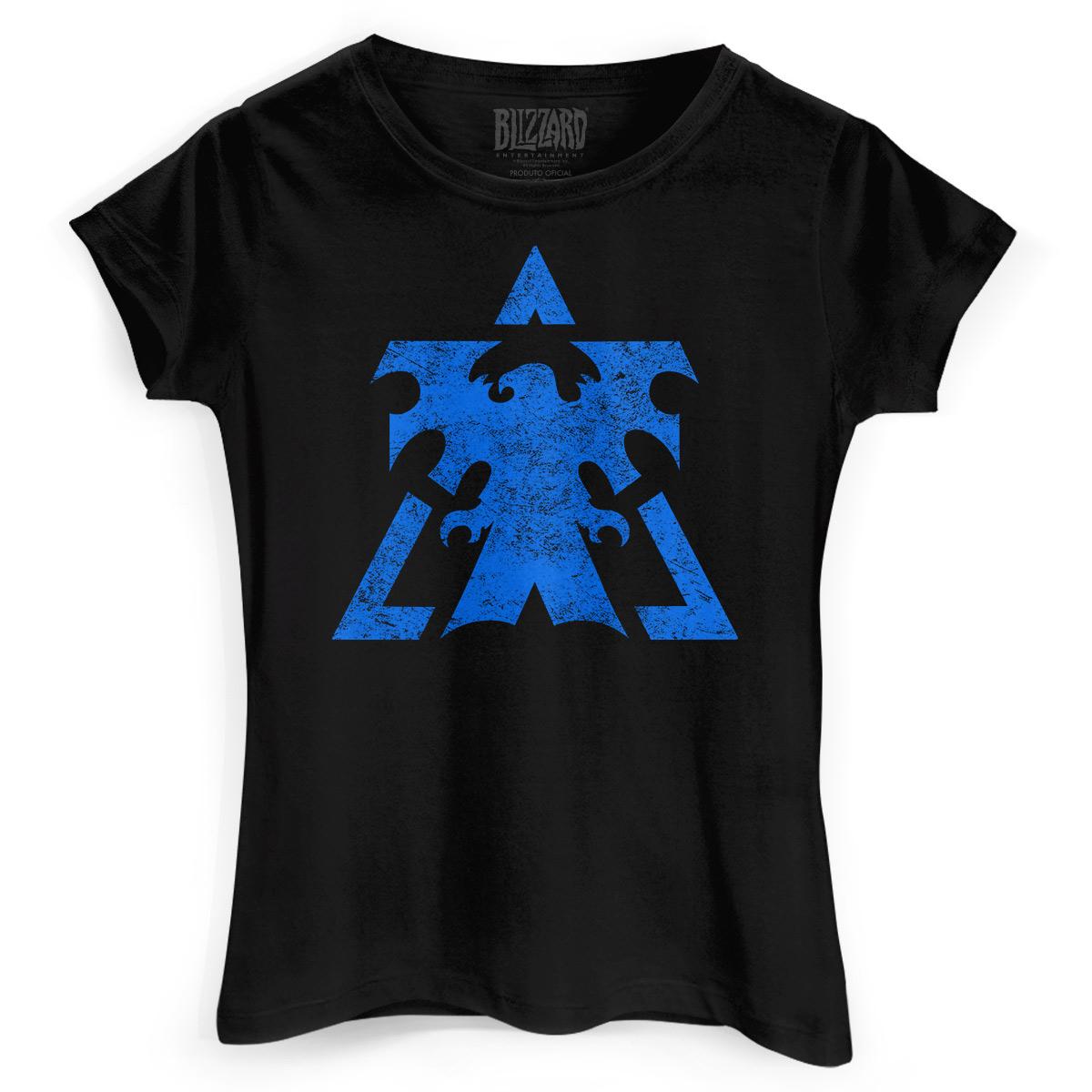 Camiseta Feminina Starcraft 2 Terrans