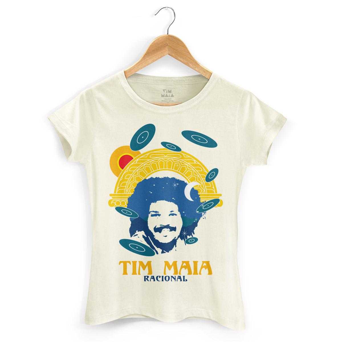 Camiseta Feminina Tim Maia Racional
