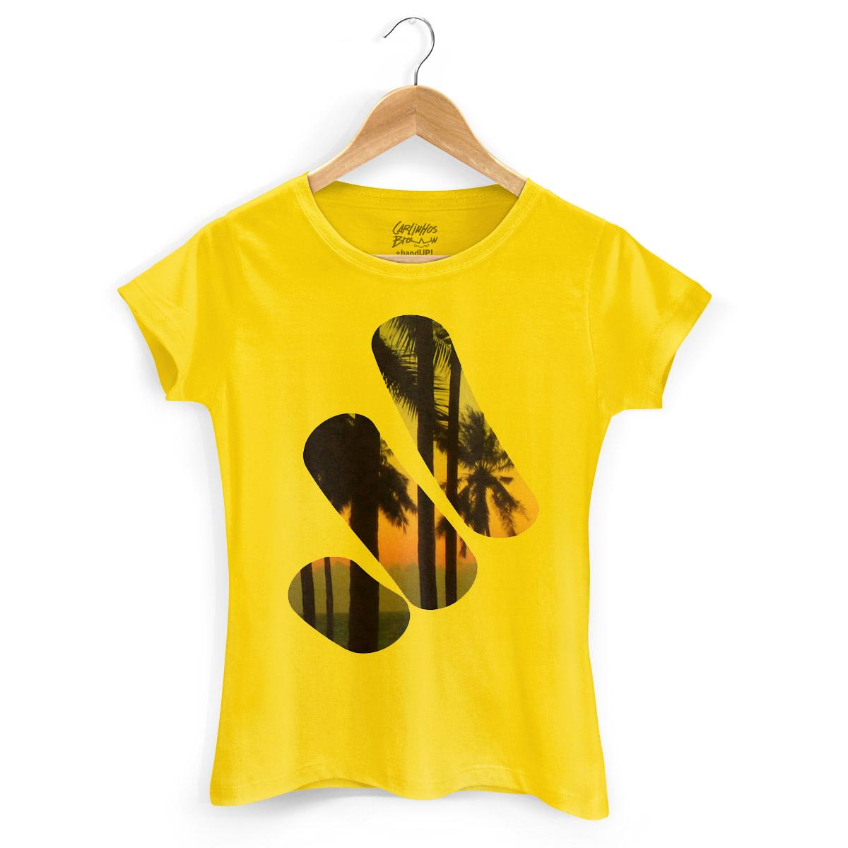 Camiseta Feminina Timbalada Modelo 1