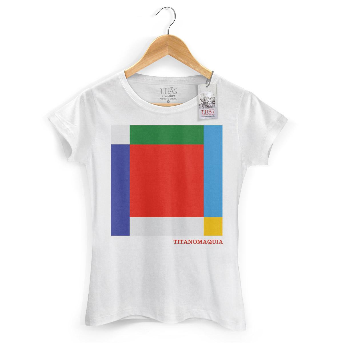 Camiseta Feminina Titãs Titanomaquia