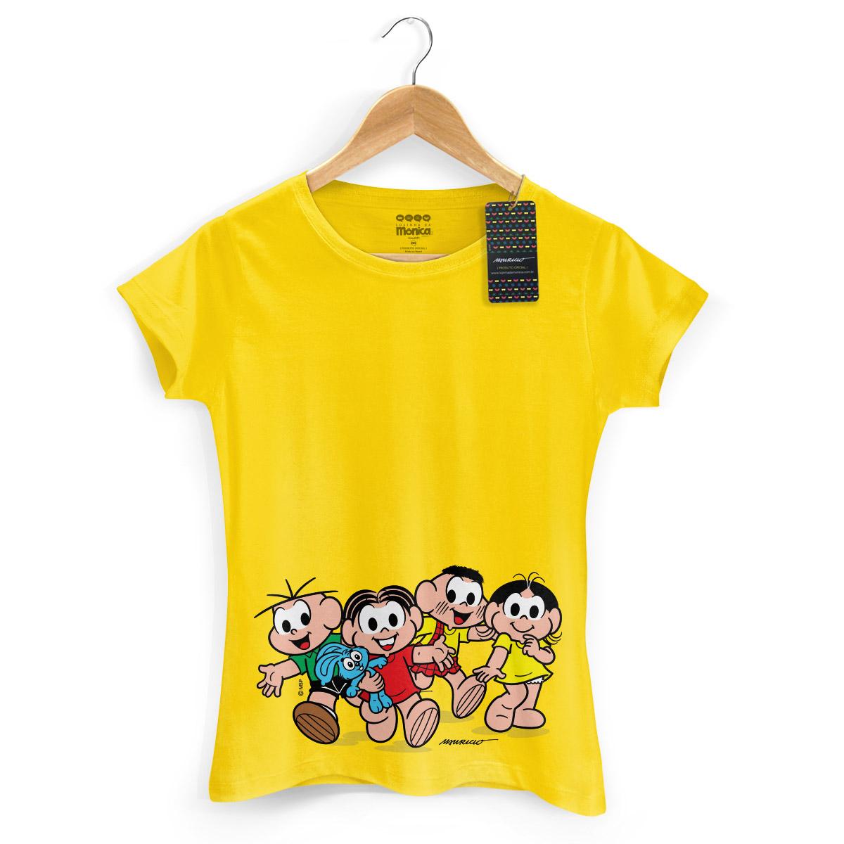 Camiseta Feminina Turma da Mônica Kids A Turma Modelo 2