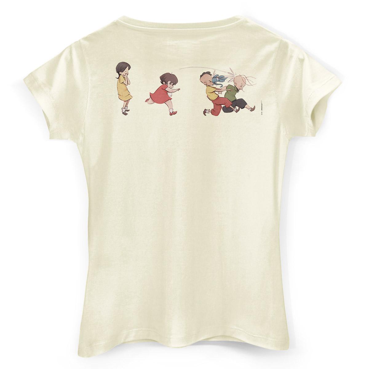 Camiseta Feminina Turma da Mônica Lições