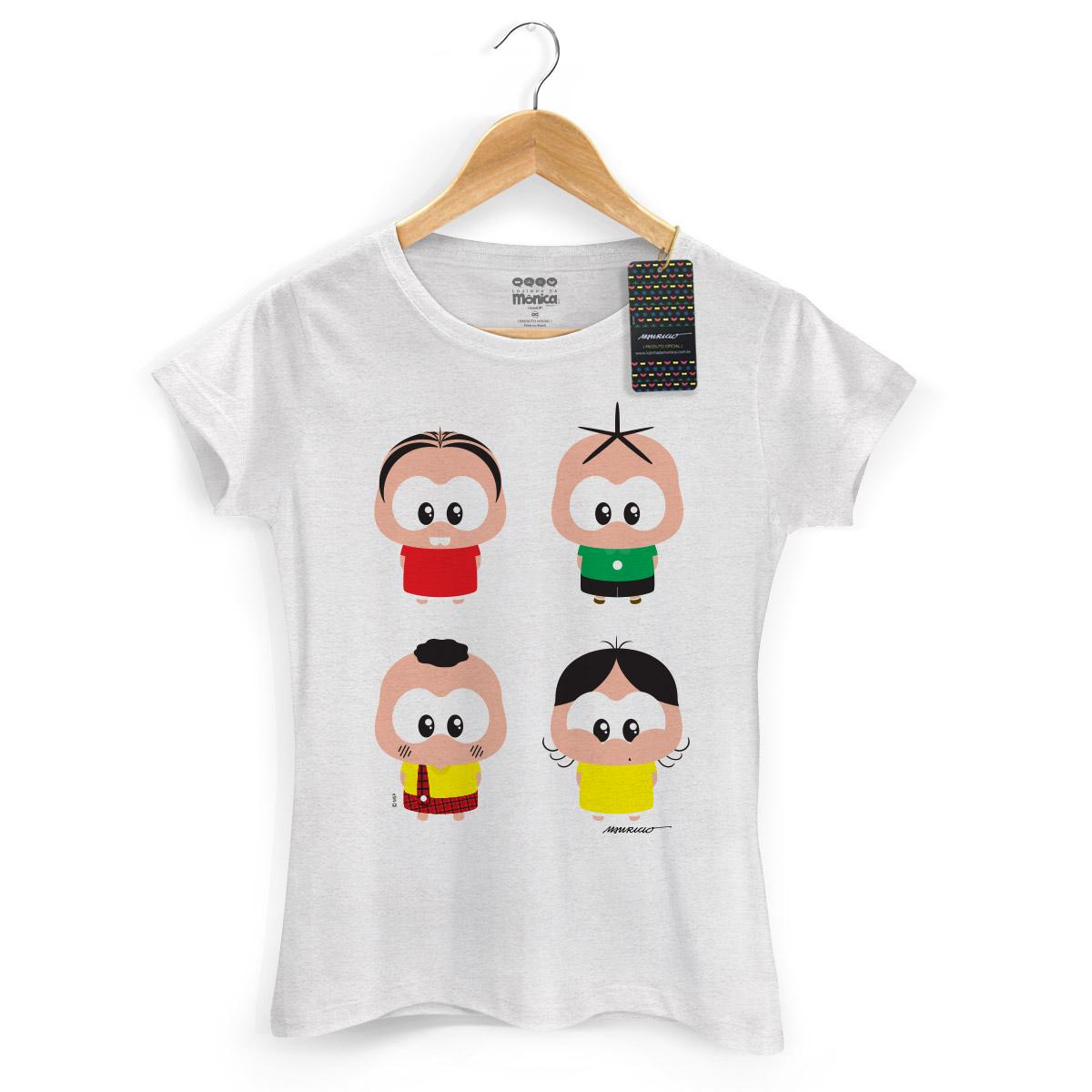 Camiseta Feminina Turma da Mônica Toy A Turma Toy