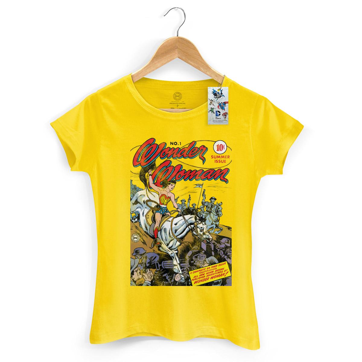 Camiseta Feminina Wonder Woman HQ Nº1