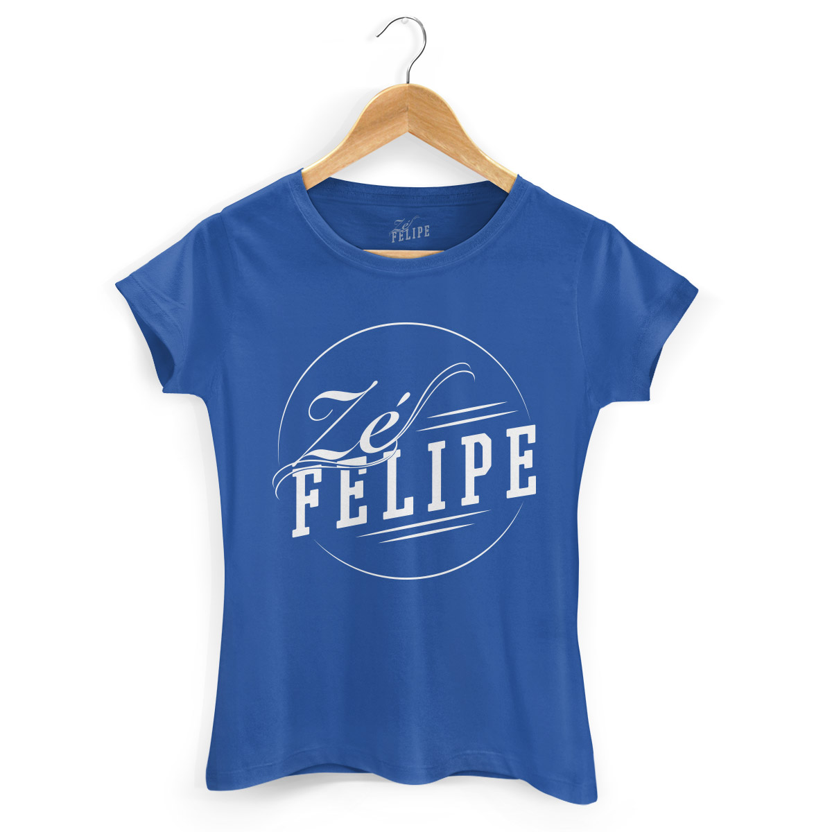 Camiseta Feminina Zé Felipe Logo