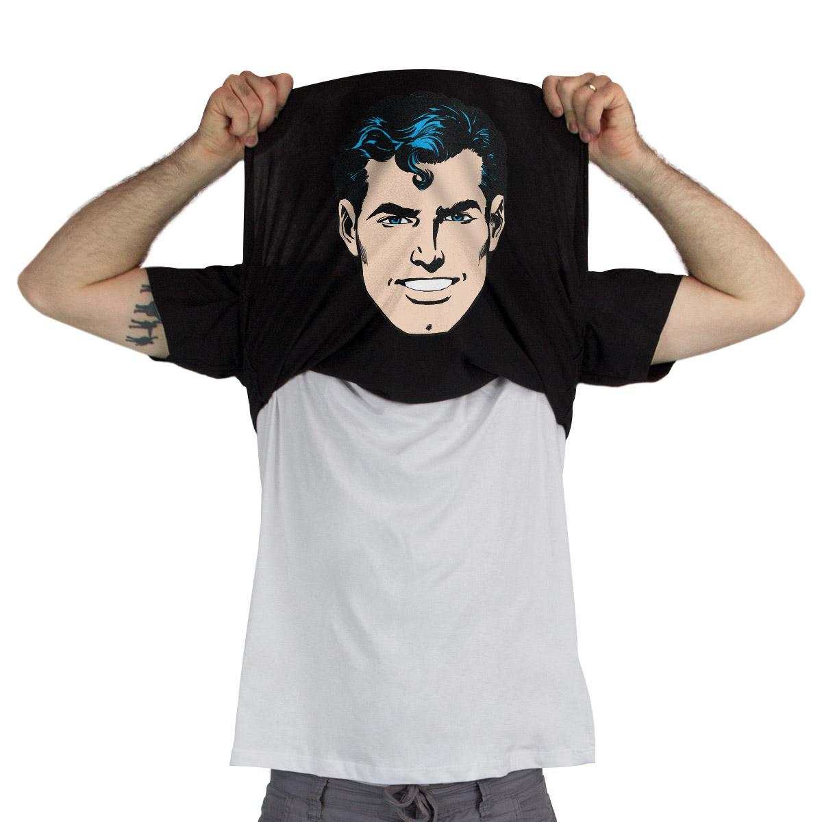 Camiseta Flip Up Superman