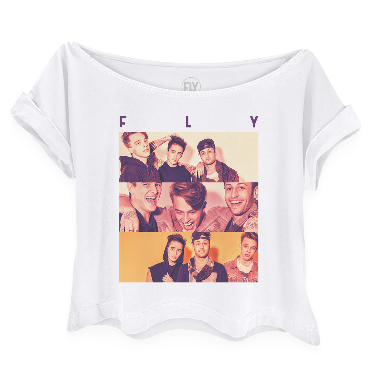 Camiseta Gola Canoa Banda Fly Especial 2 Anos