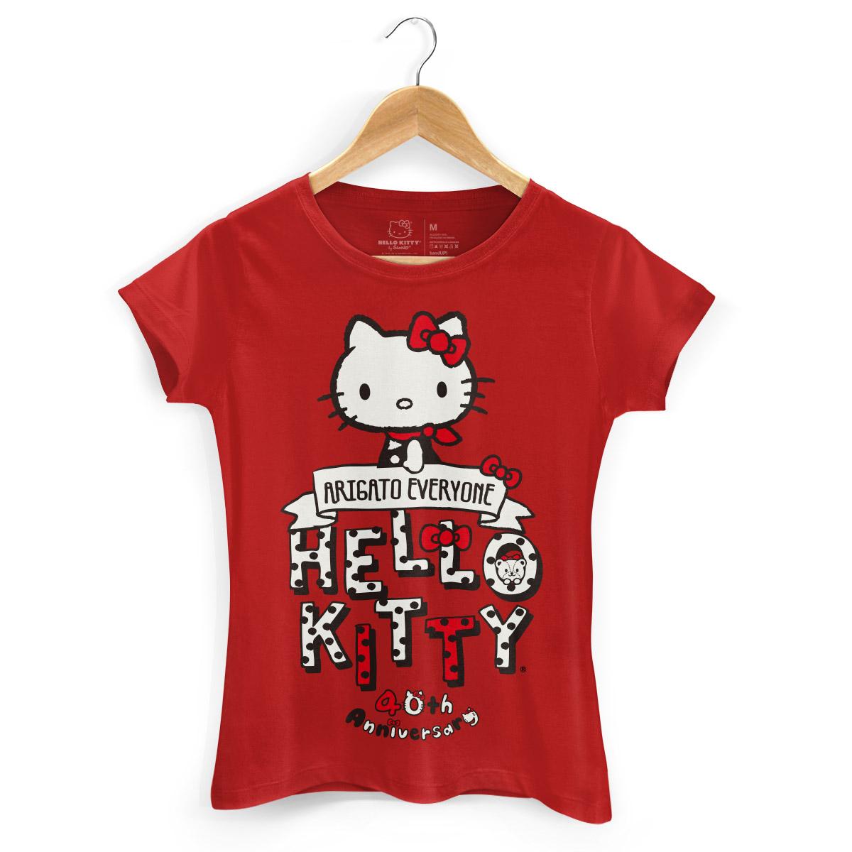 Camiseta Hello Kitty Arigato Everyone 2