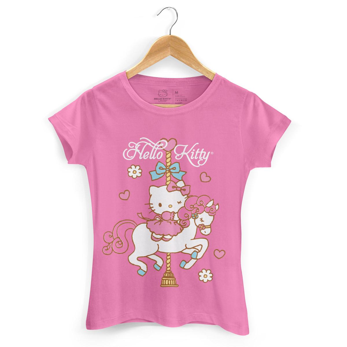 Camiseta Hello Kitty Carrossel