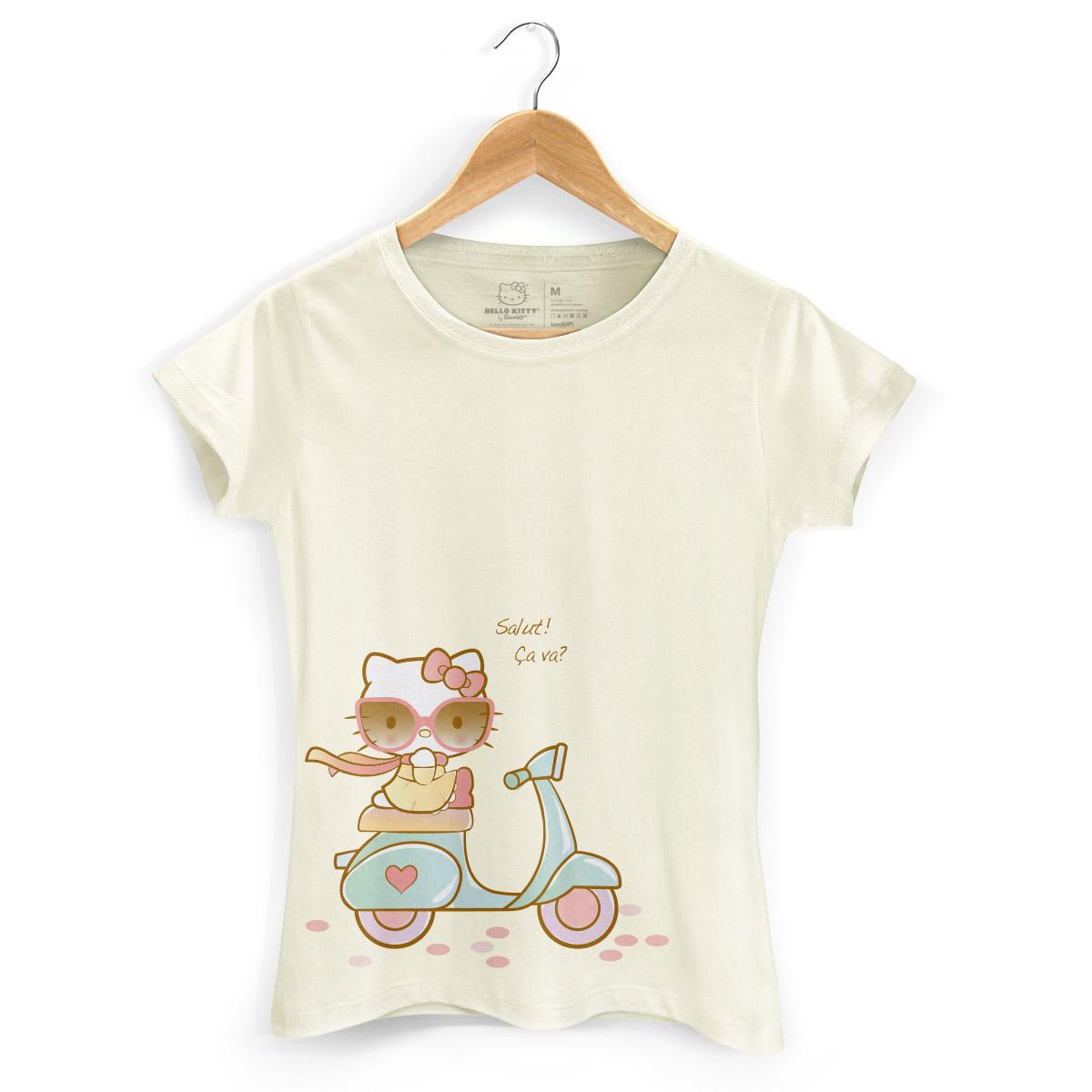 Camiseta Hello Kitty Salut! Ça Va?