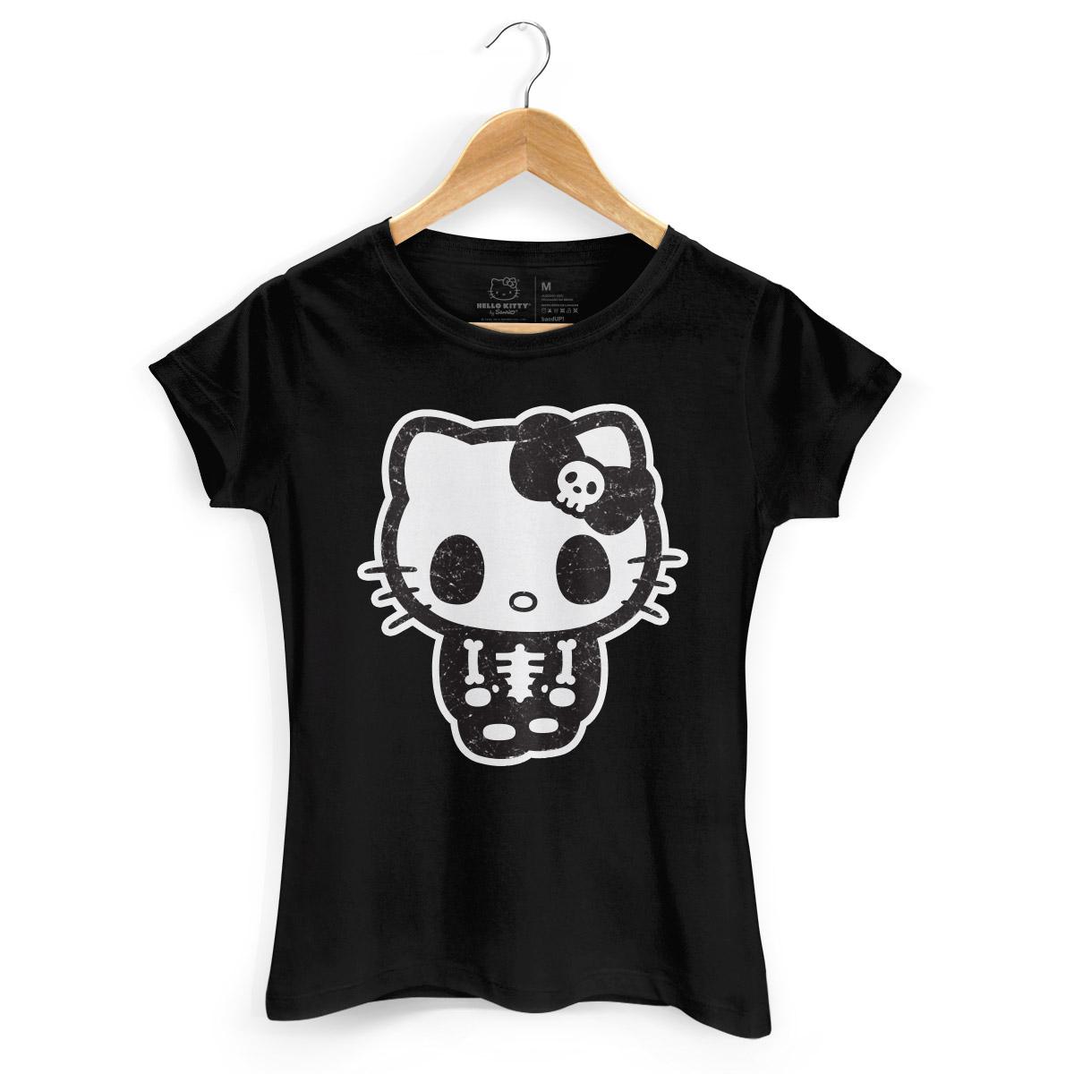 Camiseta Hello Kitty Skull