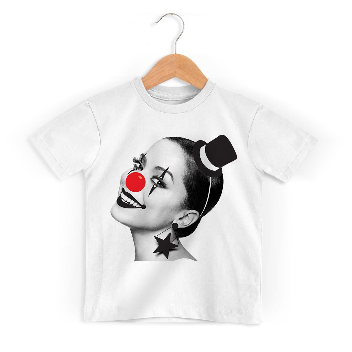 Camiseta Infantil Anitta Cravo e Canela
