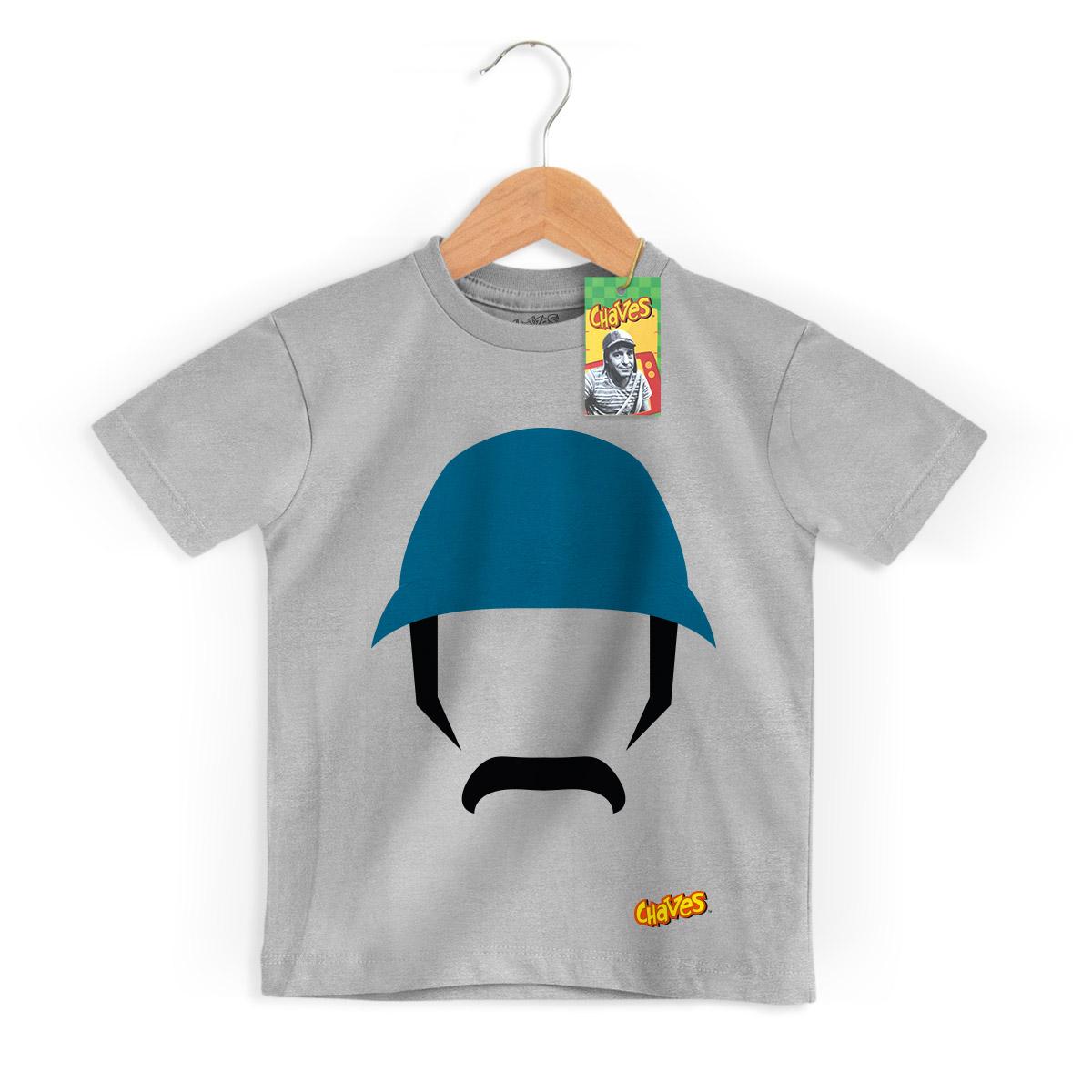 Camiseta Infantil Chaves ícone Seu Madruga