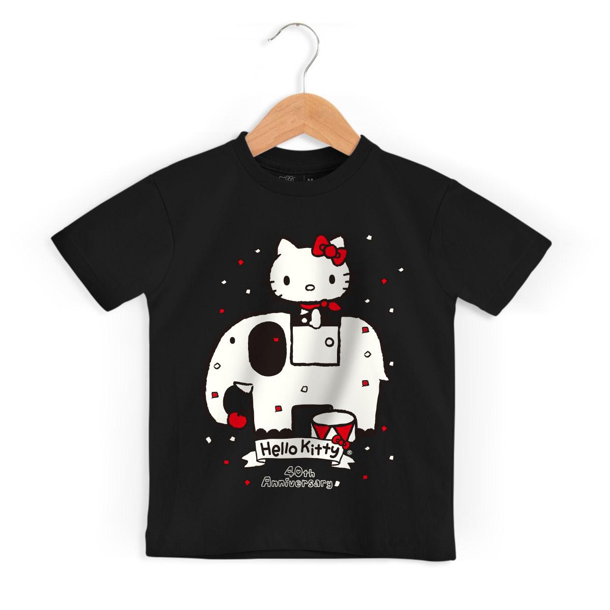 Camiseta Infantil Hello Kitty 40th Anniversary 2