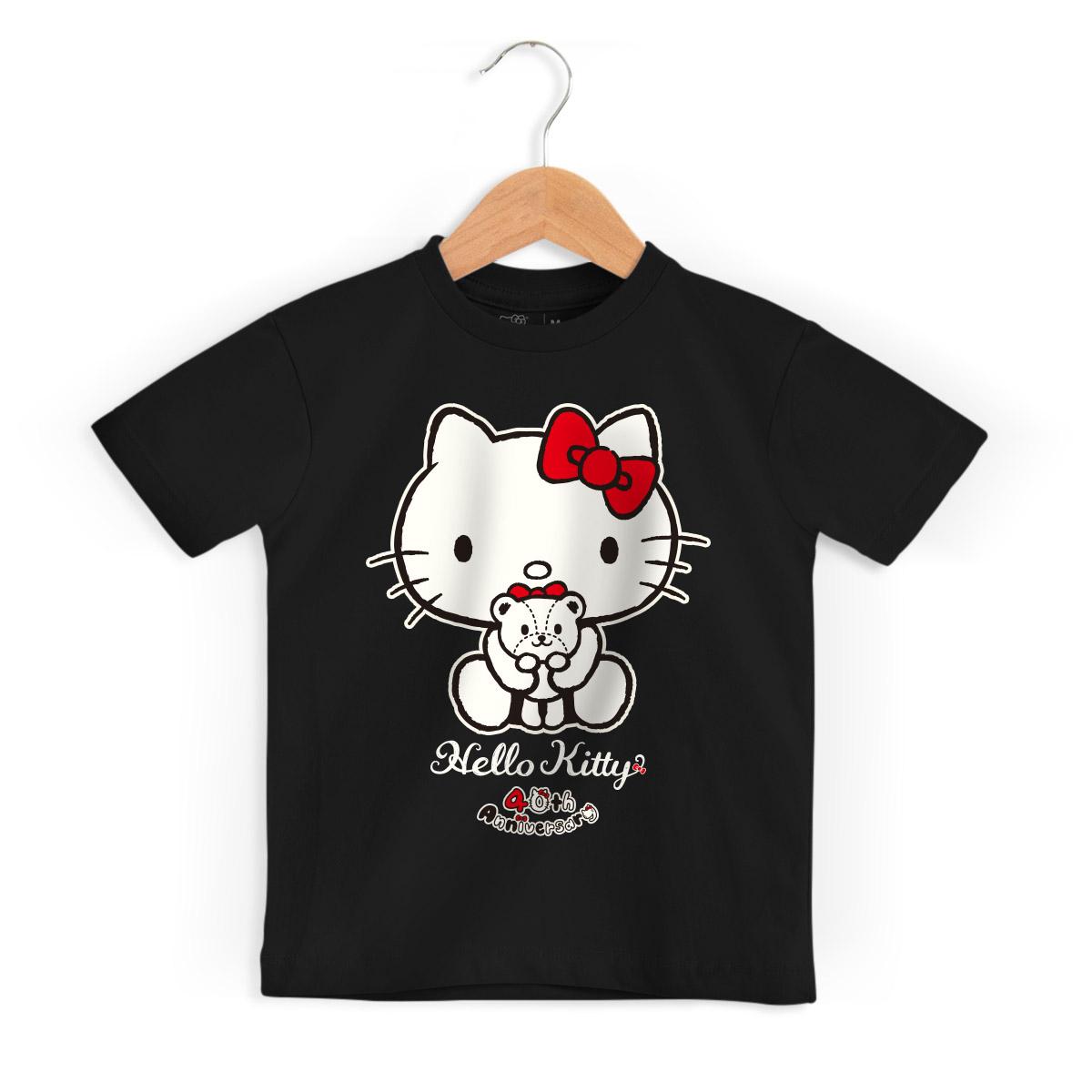 Camiseta Infantil Hello Kitty 40th Ribbon 2