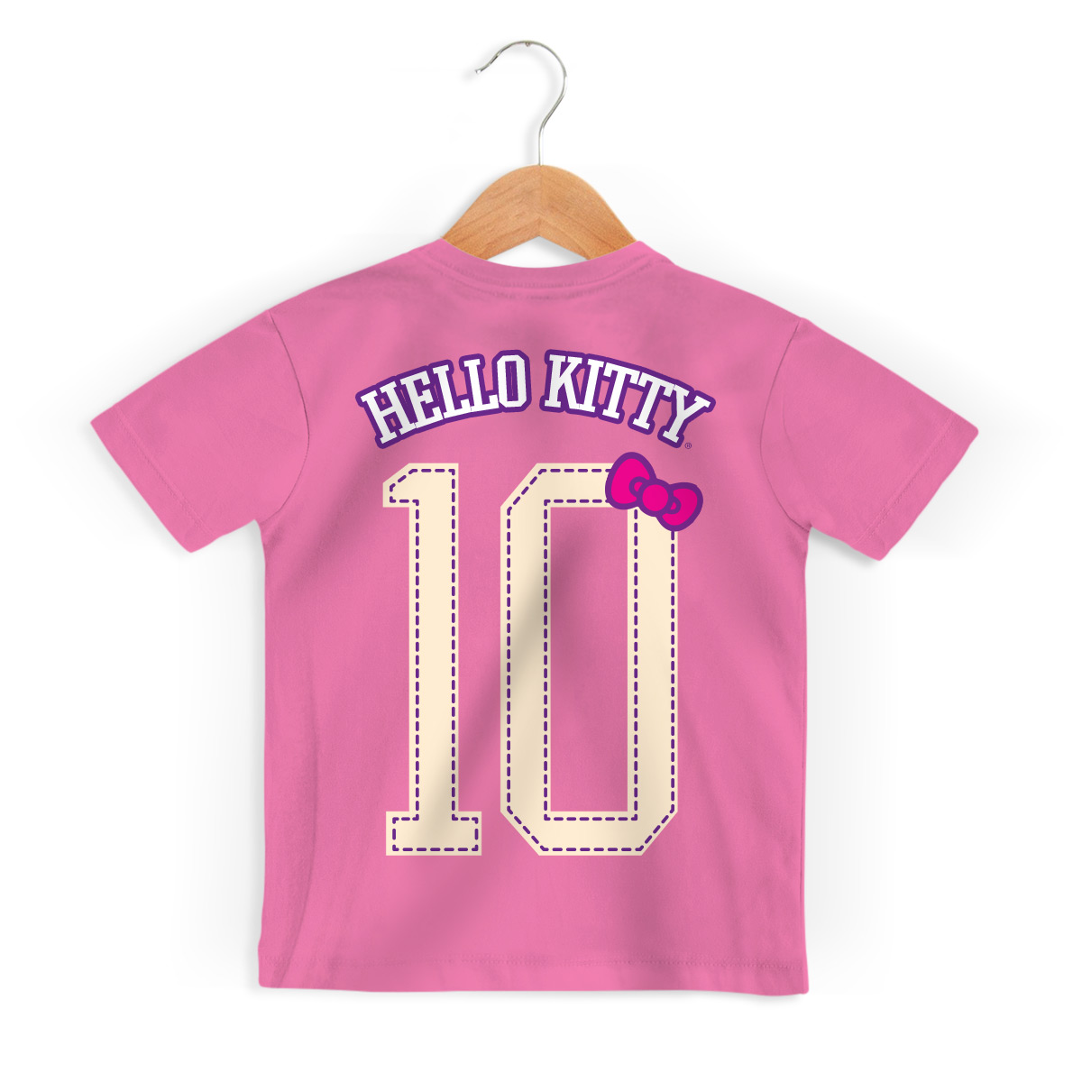 Camiseta Infantil Hello Kitty College Team