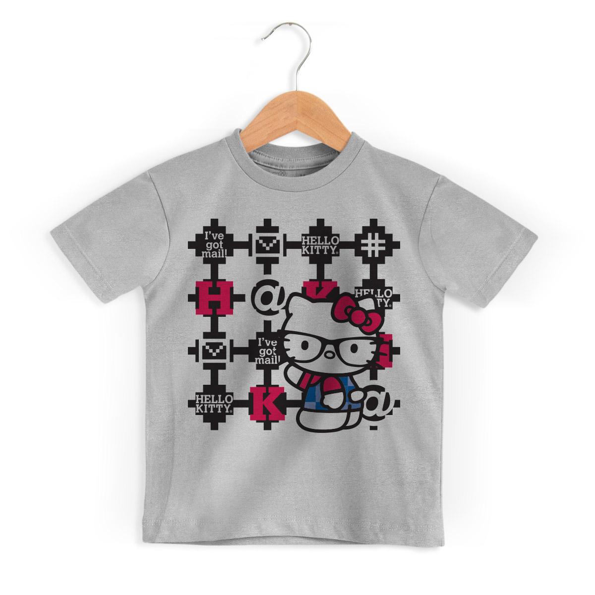 Camiseta Infantil Hello Kitty Digital