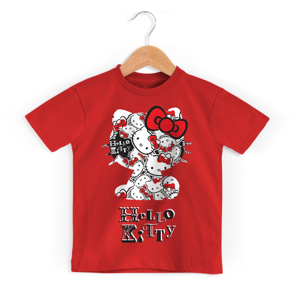 Camiseta Infantil Hello Kitty Off Me