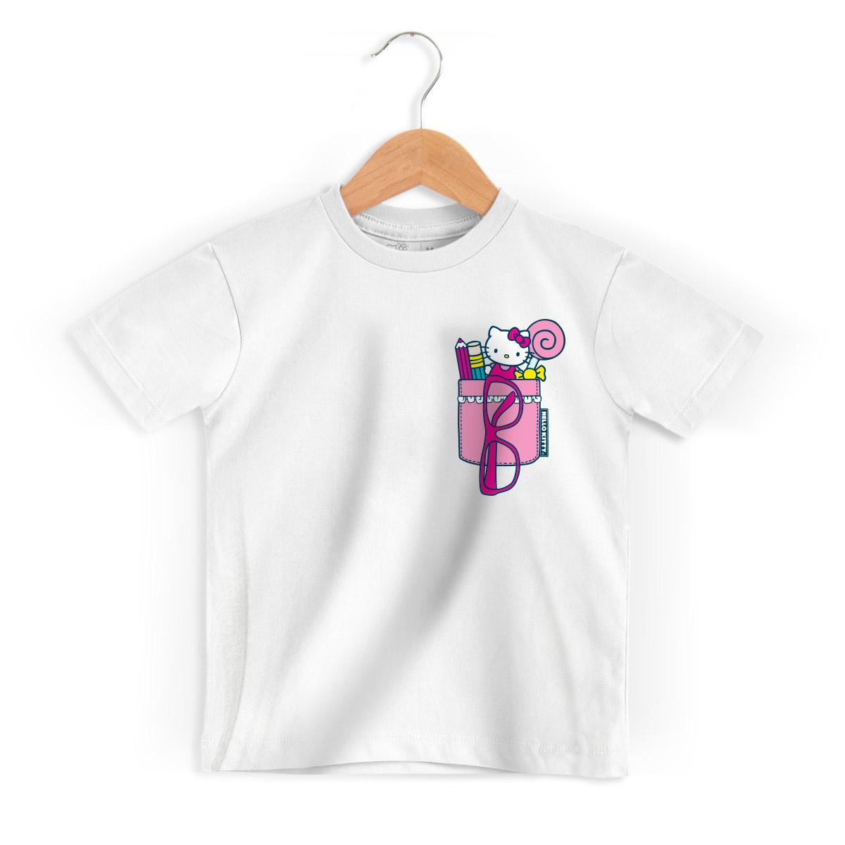 Camiseta Infantil Hello Kitty Porta Treco