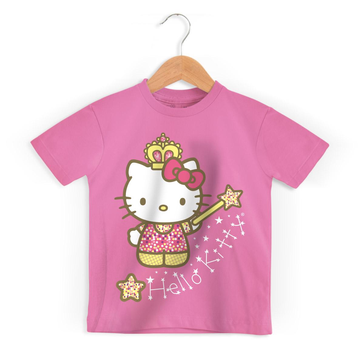 Camiseta Infantil Hello Kitty Princess