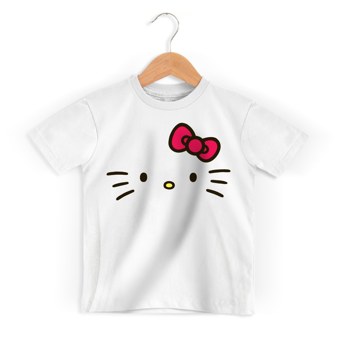 Camiseta Infantil Hello Kitty White
