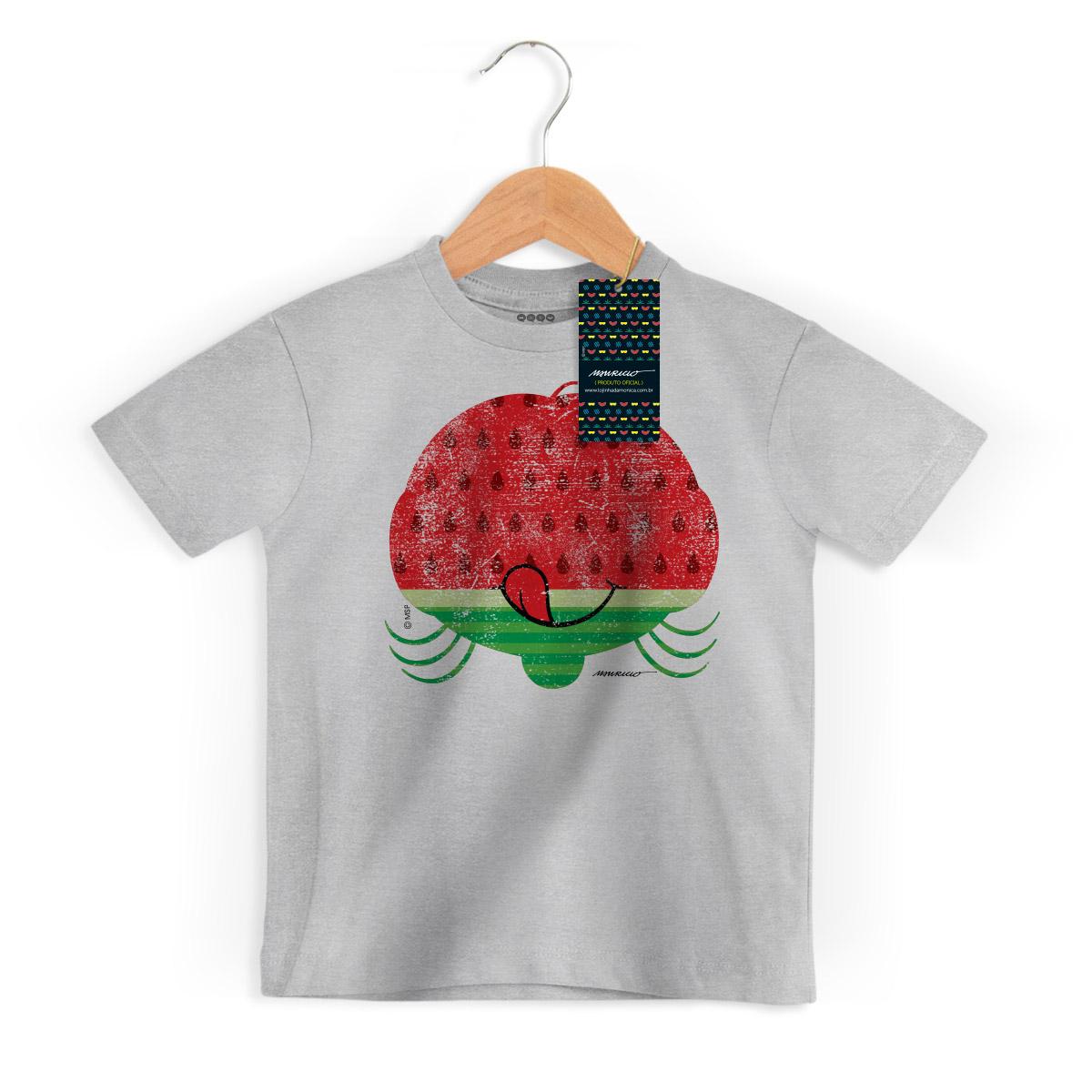 Camiseta Infantil Magali 50 Anos Grande Melancia