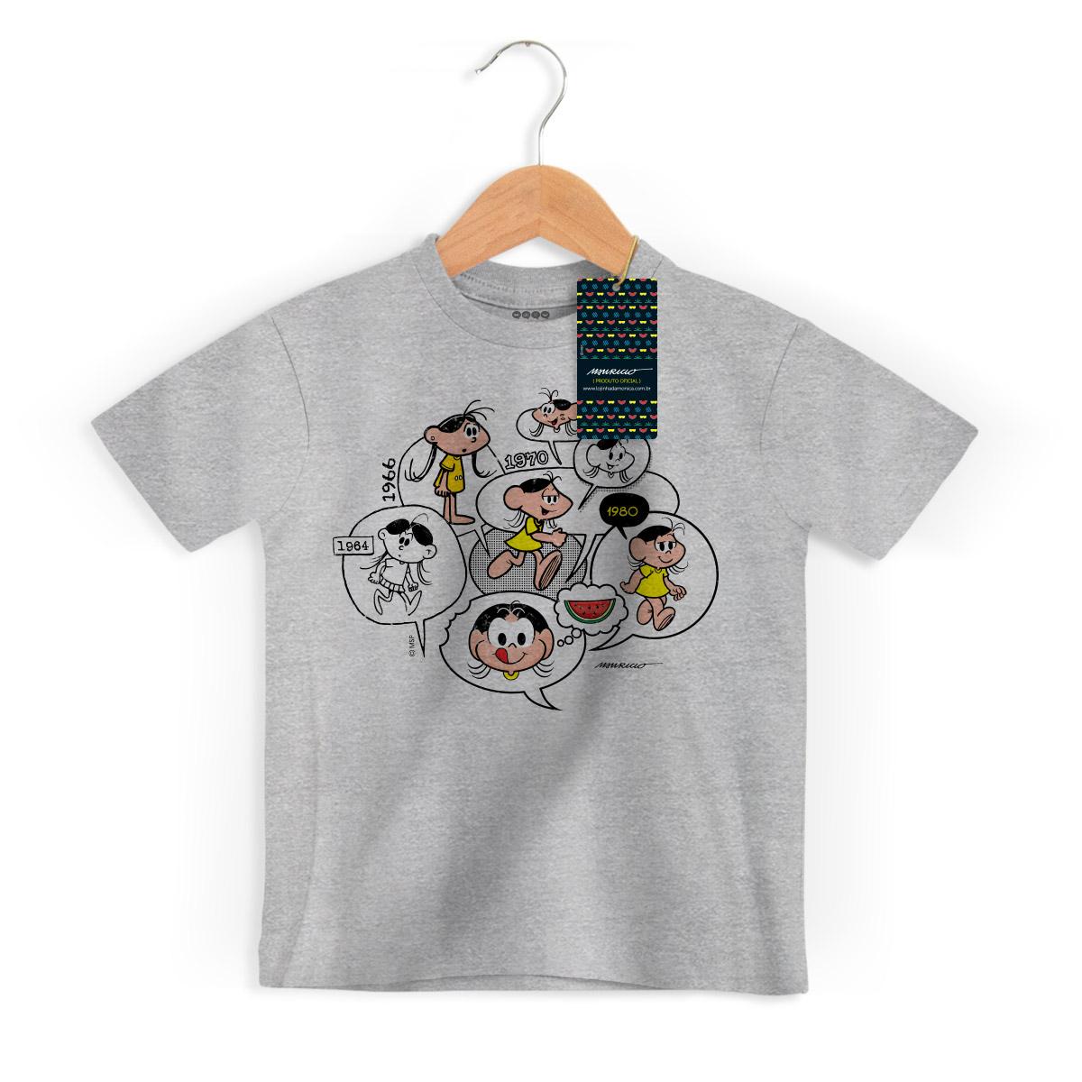 Camiseta Infanto Juvenil Magali 50 Anos Since 1964