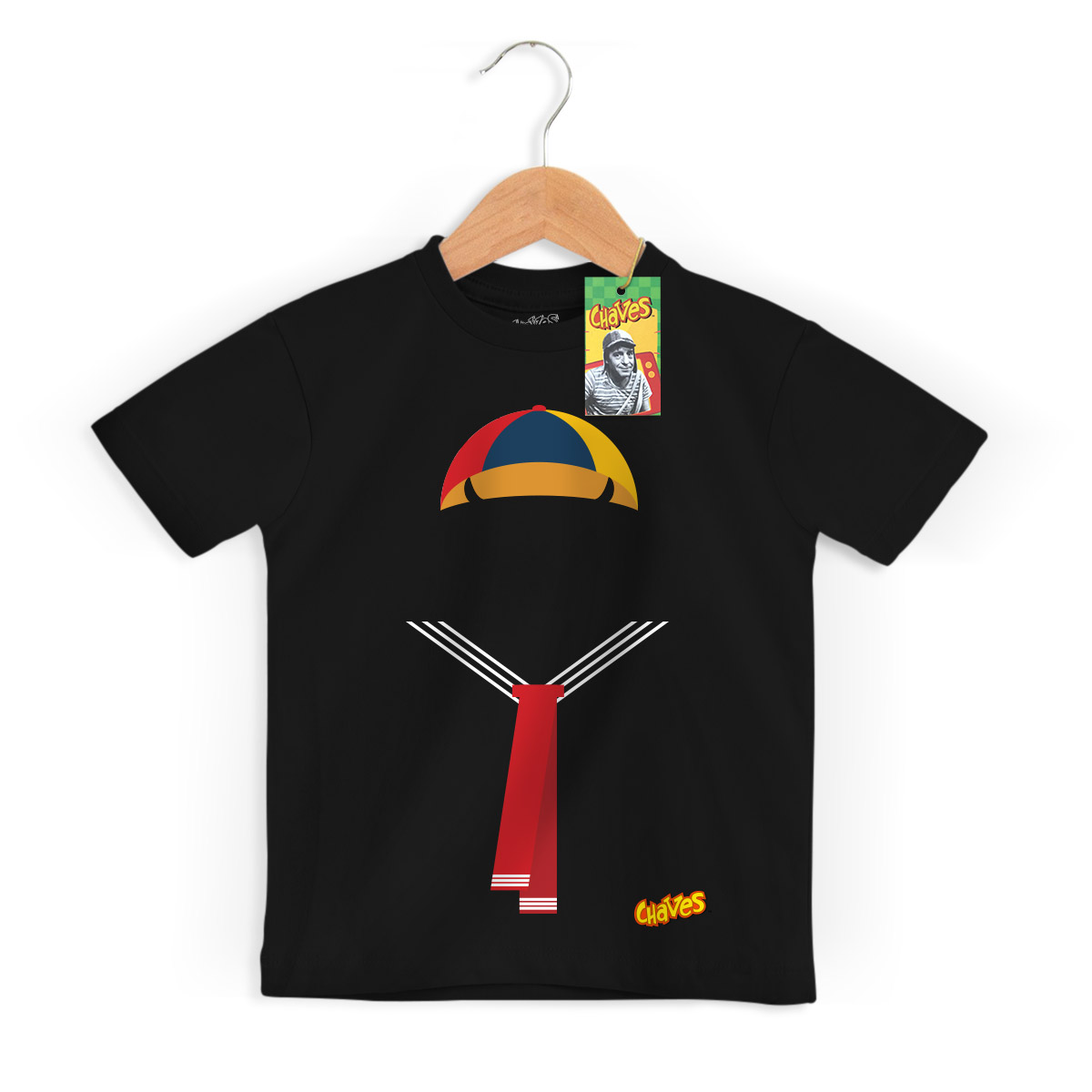 Camiseta Infantil Roupa do Quico