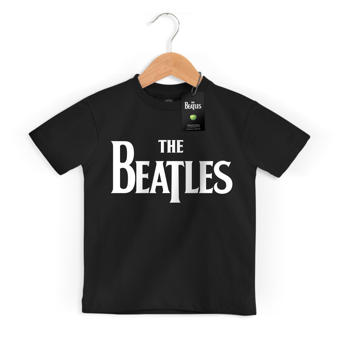 Camiseta Infantil The Beatles Logo