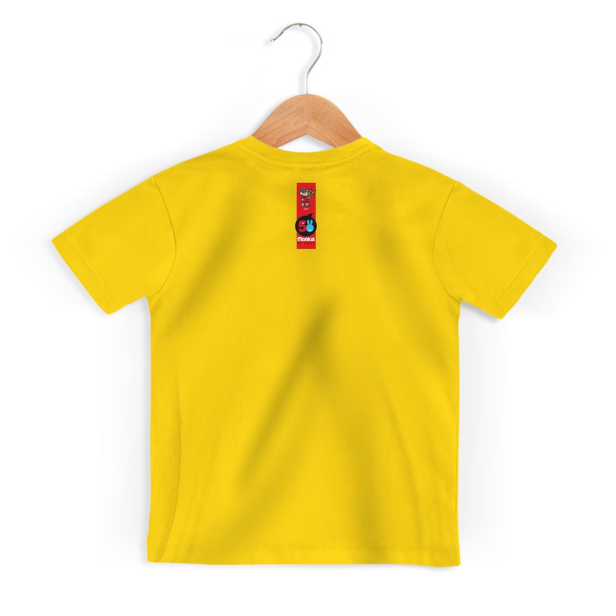 Camiseta Infantil Turma da Mônica 50 Anos Modelo 5 Anos 60