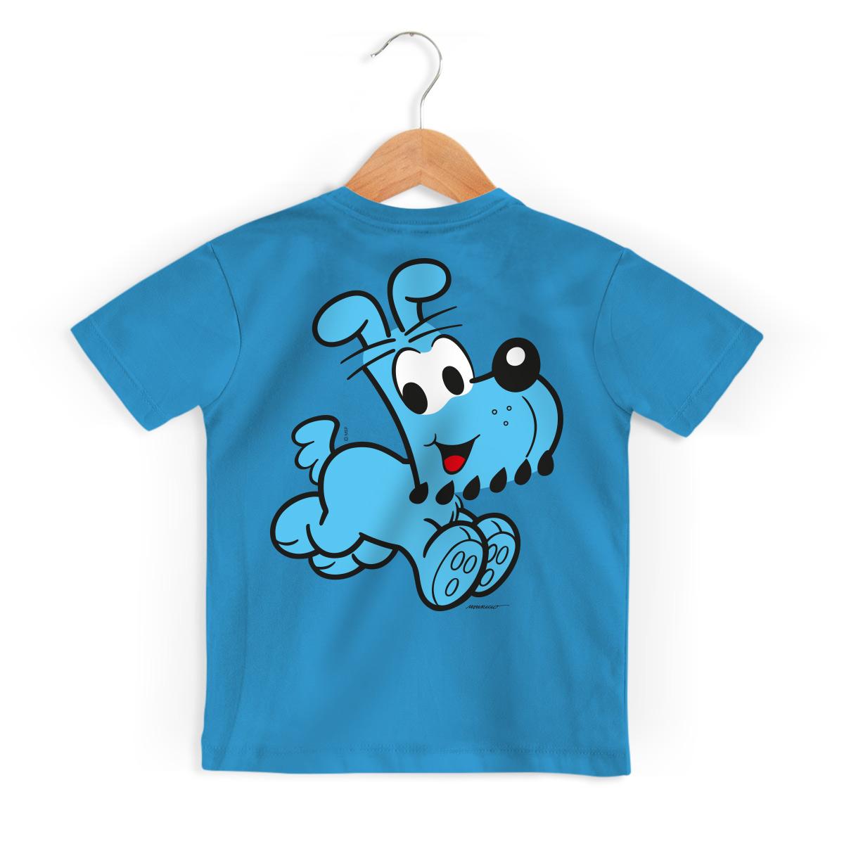 Camiseta Infantil Turma Da Mônica Kids Olhões Bidu