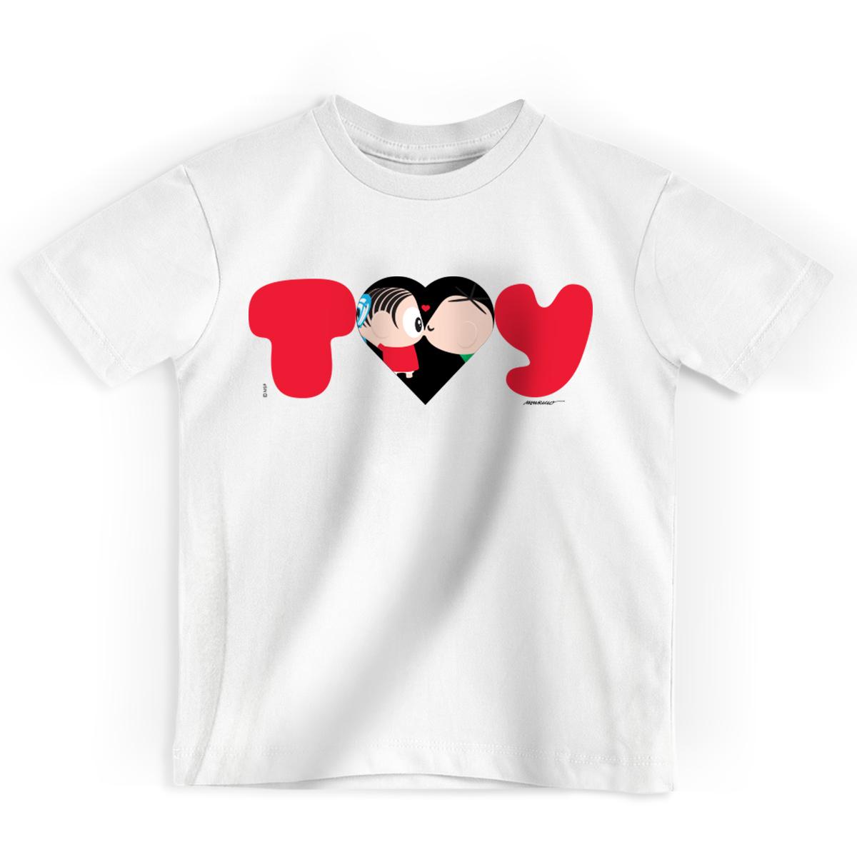 Camiseta Infantil Turma da Mônica Toy Love