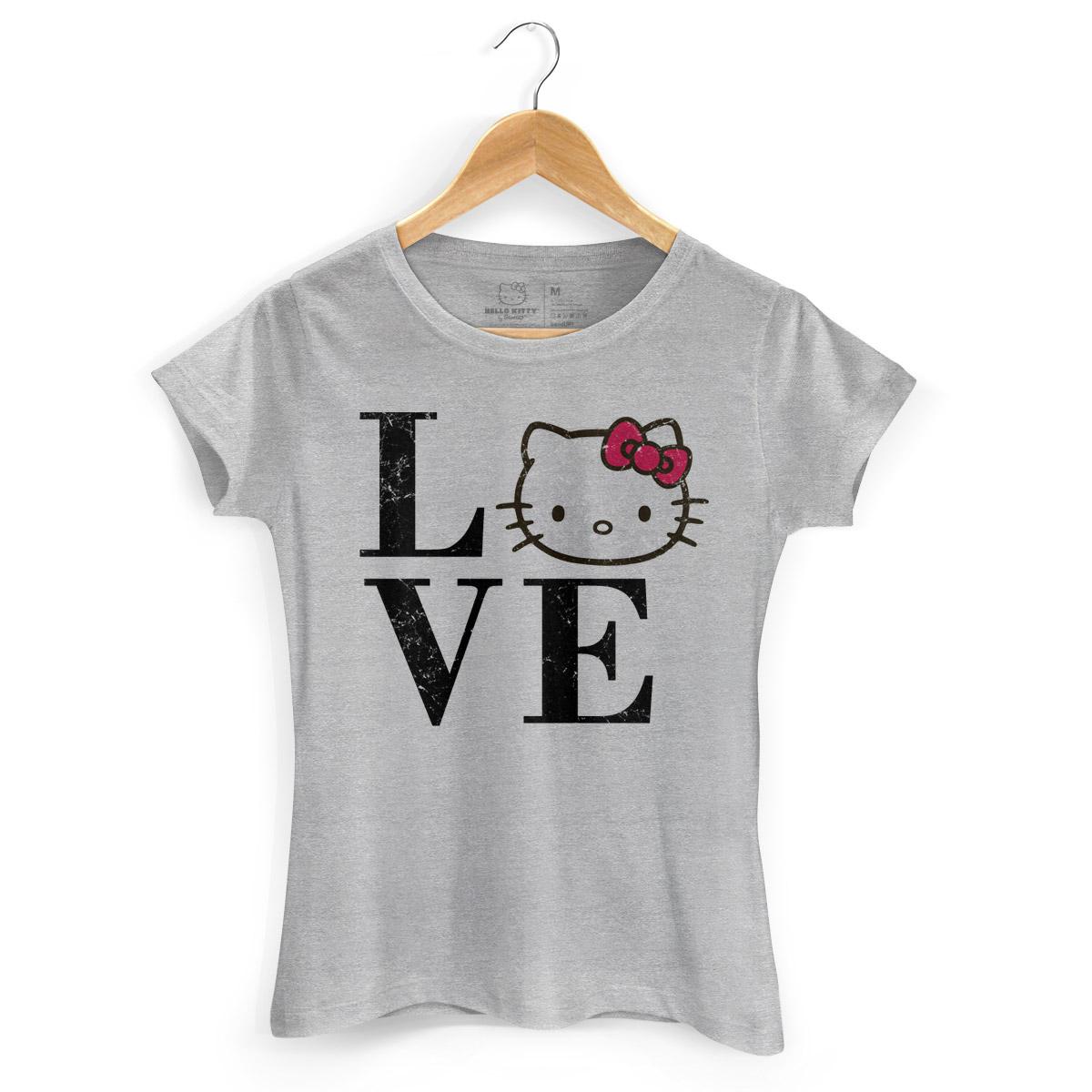 Camiseta Love Hello Kitty