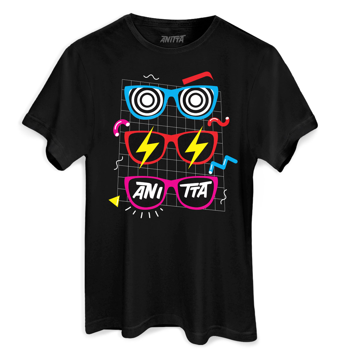 Camiseta Masculina Anitta Glasses