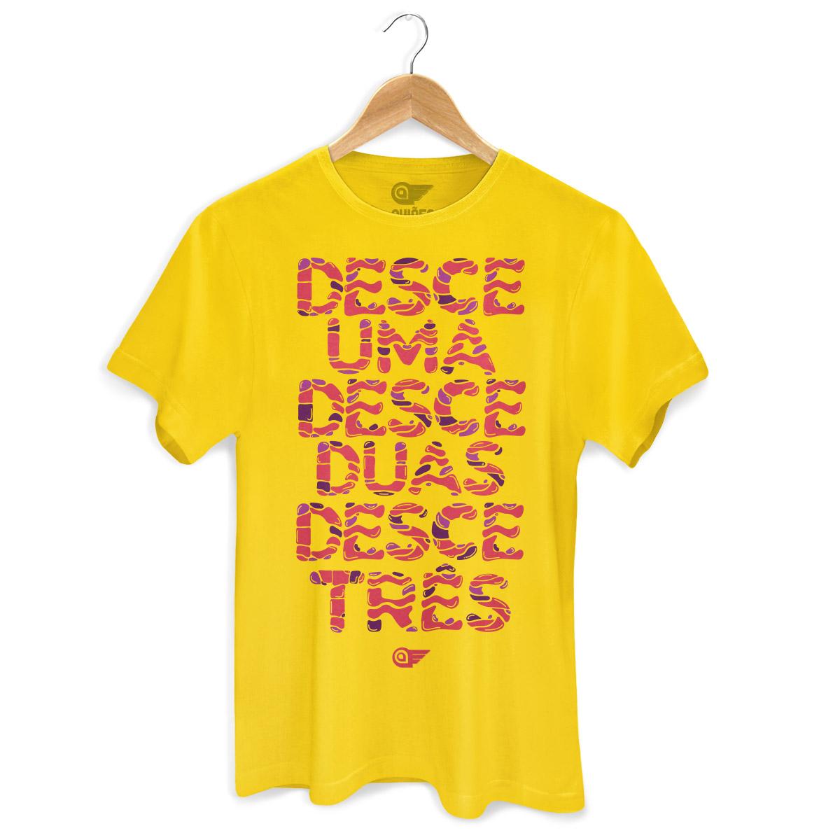Camiseta Masculina Aviões do Forró Desce Duas