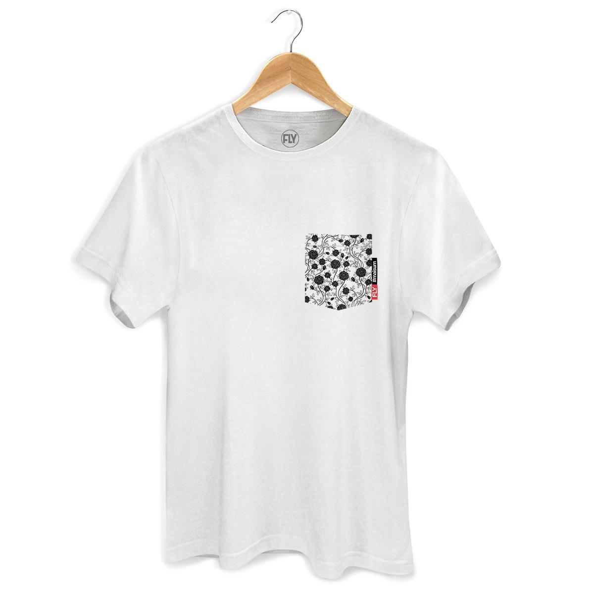 Camiseta Masculina Banda Fly Pocket