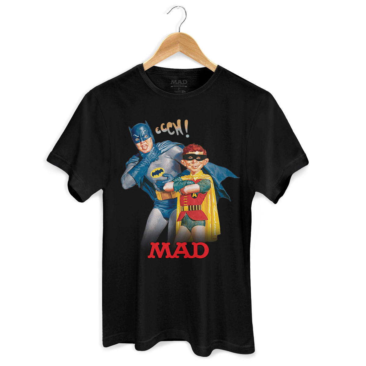 Camiseta Masculina Batman e MAD
