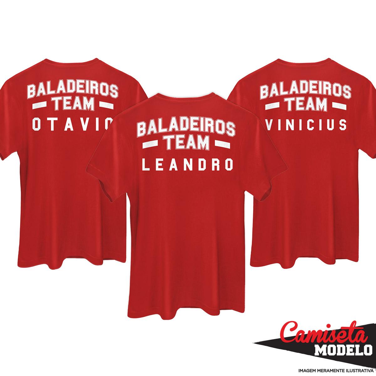 Camiseta Masculina Biel Baladeiros Team