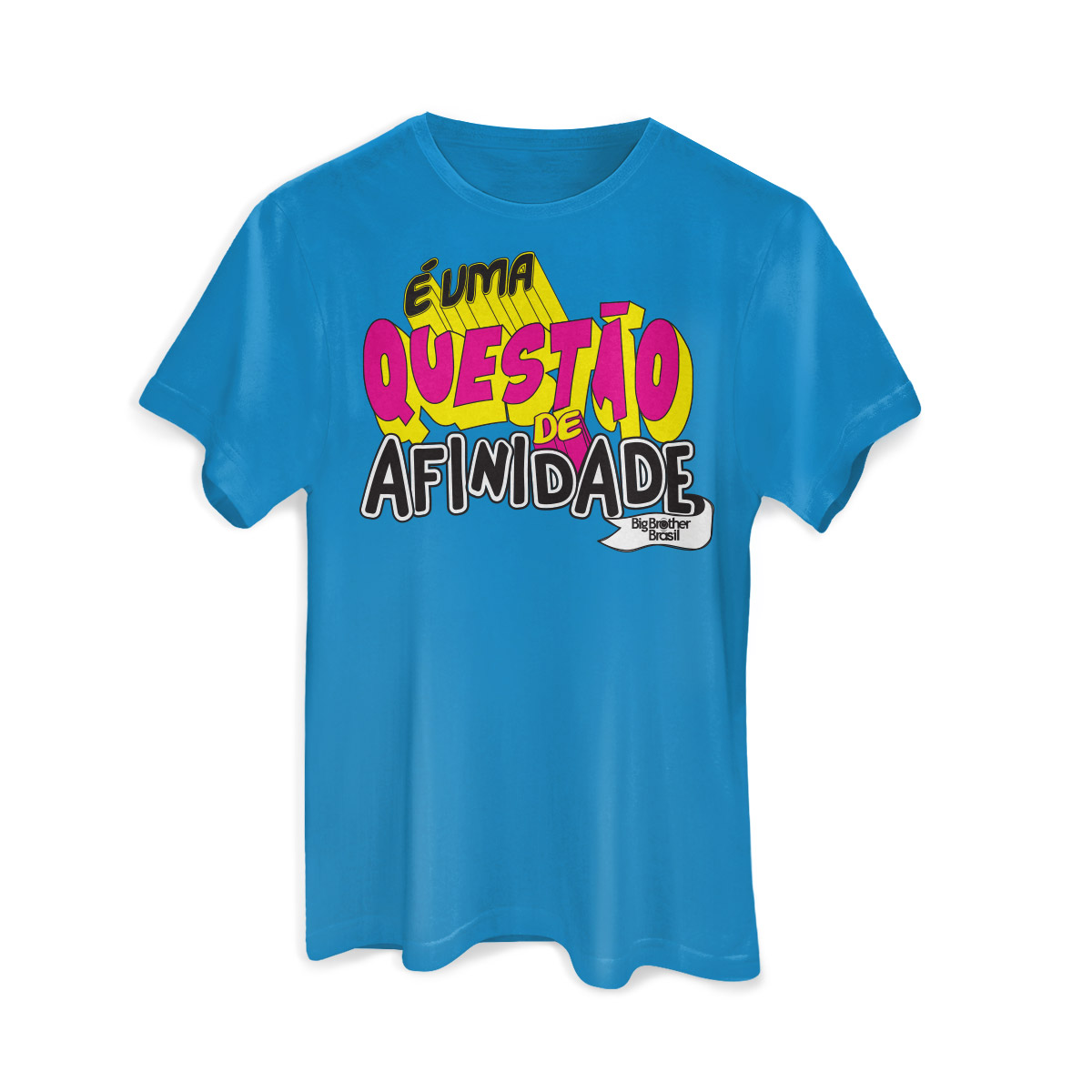 Camiseta Masculina Big Brother Brasil 15 Afinidade