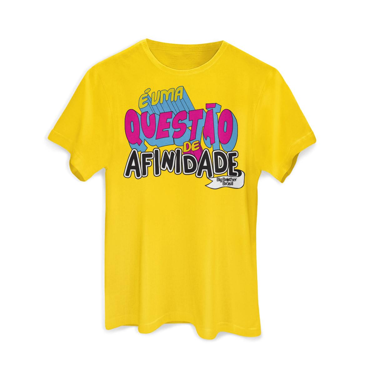 Camiseta Masculina Big Brother Brasil 15 Afinidade Modelo 2