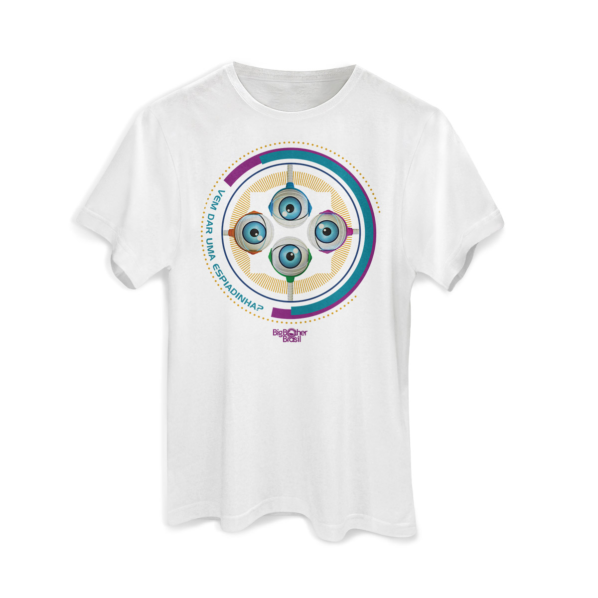 Camiseta Masculina Big Brother Brasil 15 RoBBB Cores Modelo 2