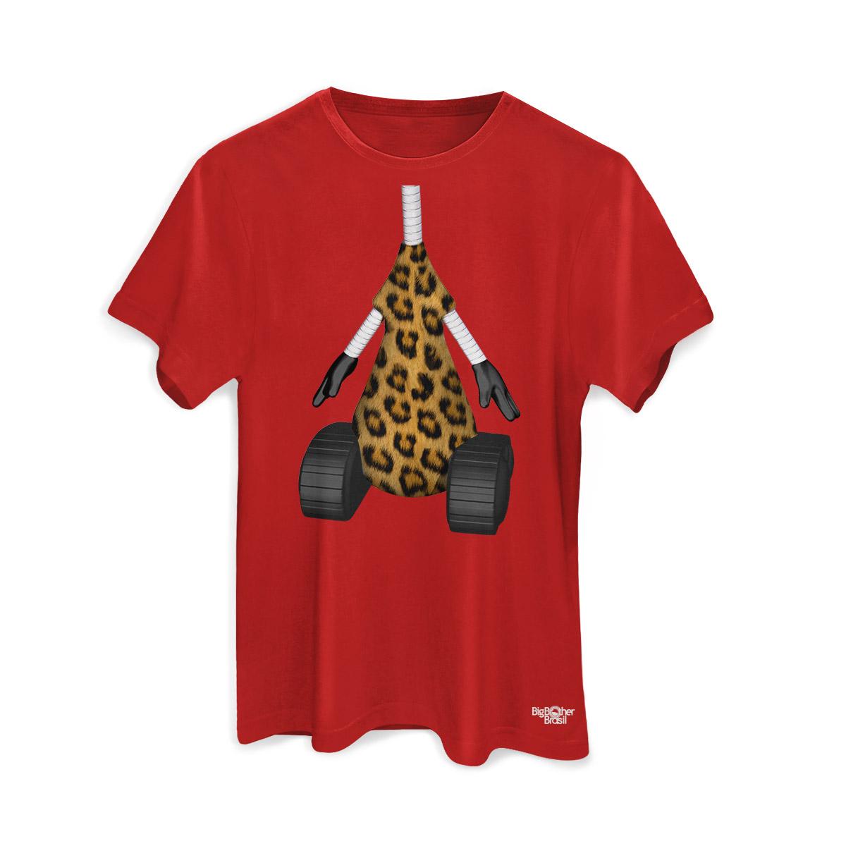 Camiseta Masculina Big Brother Brasil 15 RoBBB Oncinha