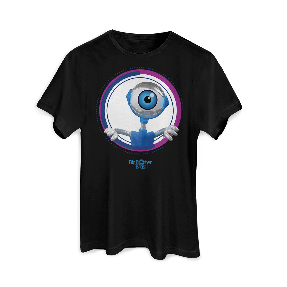 Camiseta Masculina Big Brother Brasil Espiadinha do RoBBB Modelo 3